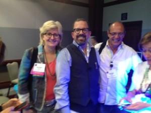 Susan Abbott, Lester Greenberg, & Peter Lovett.